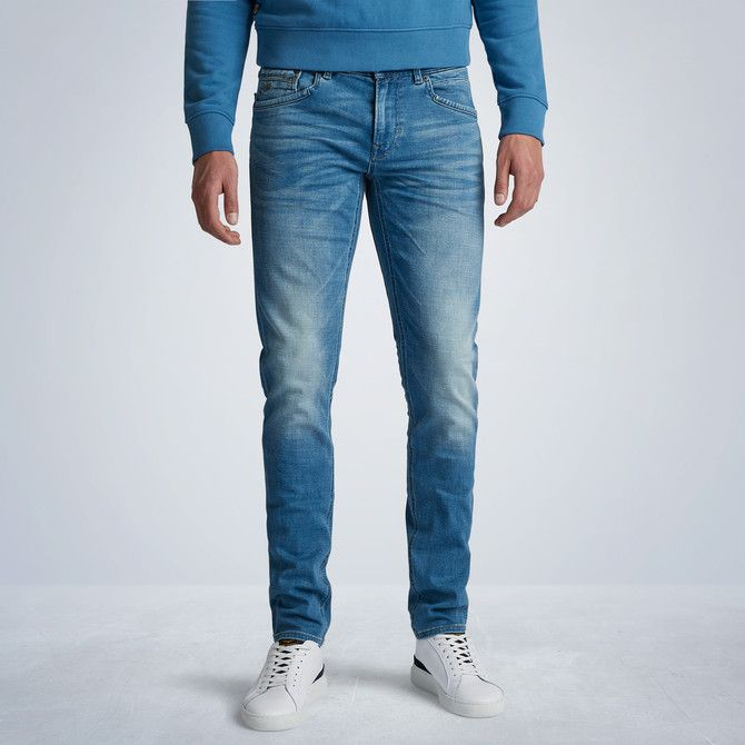 Tailwheel Soft Mid Blue Jeans
