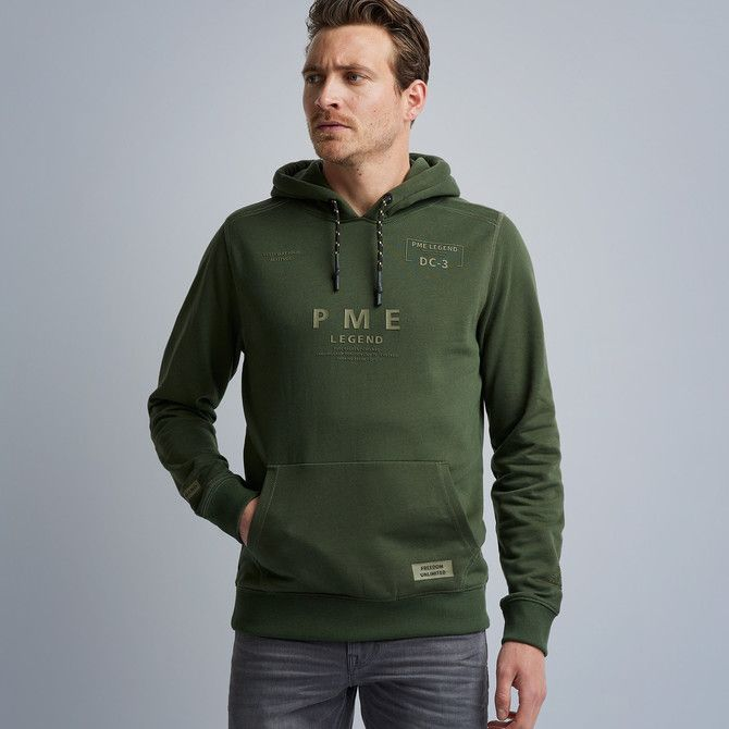 Brushed Sweat Hooded Sweater