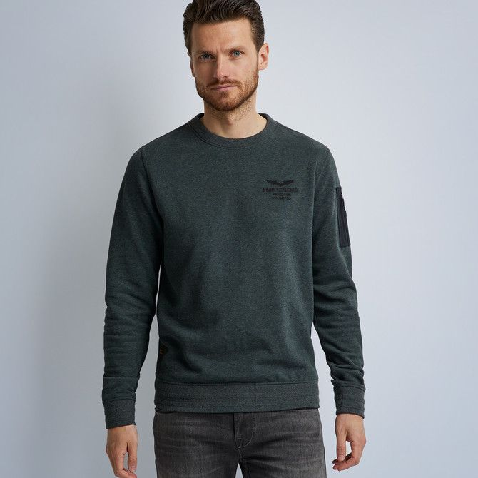 Brushed R-Neck Sweater
